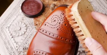 Schuhe richtig putzen