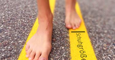 richtige Schuhgröße